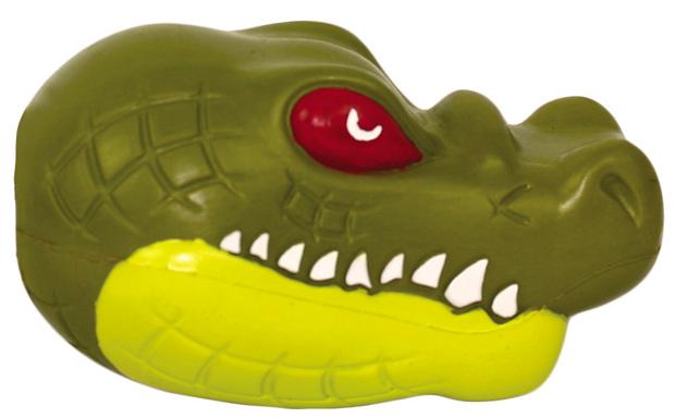 Rugged Rubber Alligator Medium Rubber Dog Toys Online