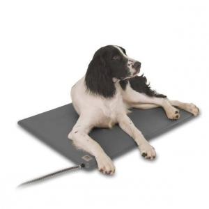"""K&H Pet Products Deluxe Lectro-Kennel Small Gray 12.5"""" x 18.5"""" x 0.5"""""""