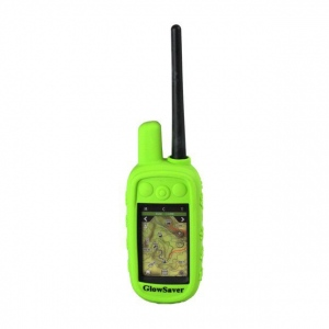 The Buzzard's Roost GlowSaver Case for Alpha with Screen Protectors Bright Green