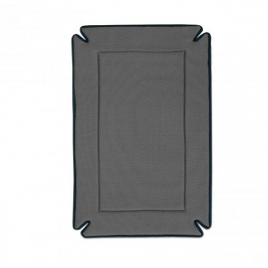 """K&H Pet Products Odor-Control Dog Crate Pad Gray 25"""" x 37"""" x 0.5"""""""