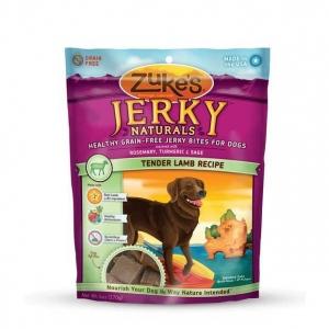 Zuke's Jerky Naturals Healthy Grain Free Treats for Dogs Tender Lamb 6 oz.