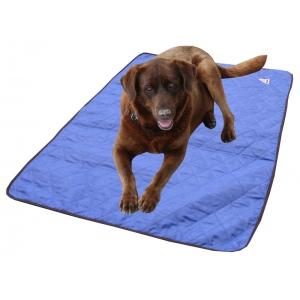 HyperKewl Evaporative Cooling Dog Pad: Blue, XS