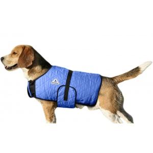 HyperKewl Evaporative Cooling Dog Coat: Blue, XS