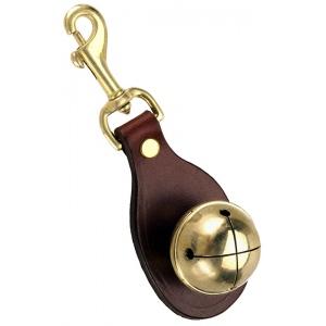 "Mendota Snap Bell: Chestnut, 5"" x 1 3/4"""