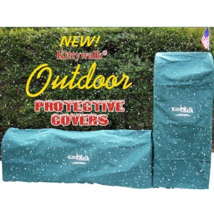 Kittywalk Outdoor Protective Cover for Lawn Version