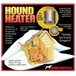 "AKOMA Dog Products Hound Heater Dog House Furnace Deluxe with Cord Protector: 110-Volt, 10"" x 10"" x 4.5"""