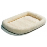 "Midwest Homes for Pets Quiet Time Fleece Crate Bed: 36"" x 23"""