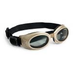 Doggles Originalz: Chrome Frame / Smoke Lenses, Small