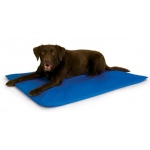 "K&H Pet Products Cool Bed III: Medium, Blue, 22"" x 32"" x 1.5"""