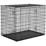 "Midwest Homes for Pets Solution Series Ginormous Double Door Crate: 54"" x 37"" x 45"""