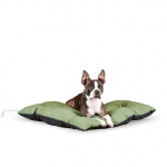"K&H Pet Products Thermo-Cushion Pet Bed Medium Sage 26"" x 29"" x 3"""
