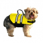 Pawz Pet Products Nylon Dog Life Jacket Small Yellow