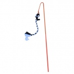 "Tether Tug Outdoor Dog Toy Large Assorted Colors 55"" x 4"" x 4"""