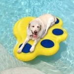 "Paws Aboard Doggy Lazy Raft Large Yellow 50"" x 39"""